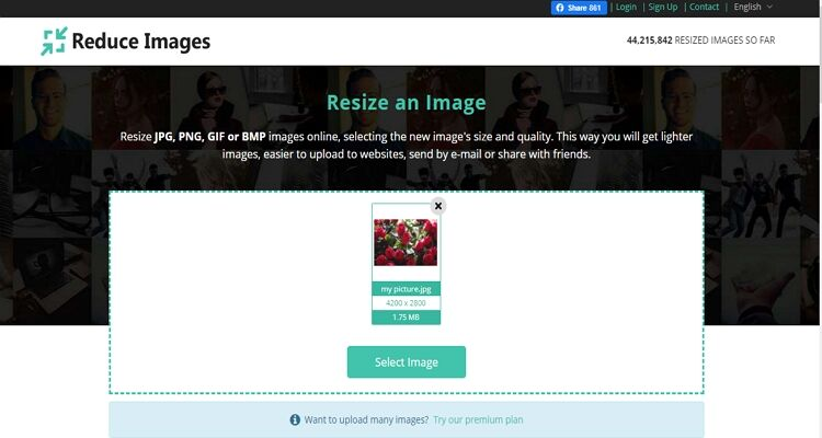 best picture size converter-Reduce Images