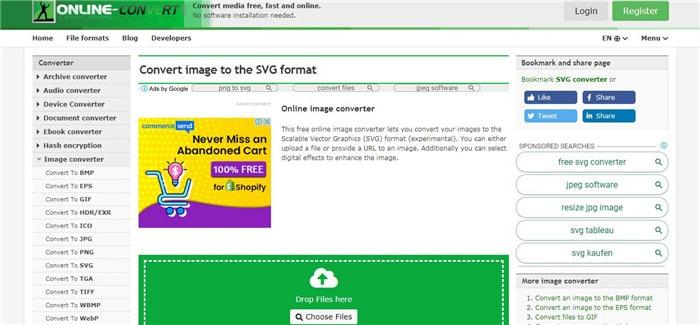 SVG Konvertierungssoftware