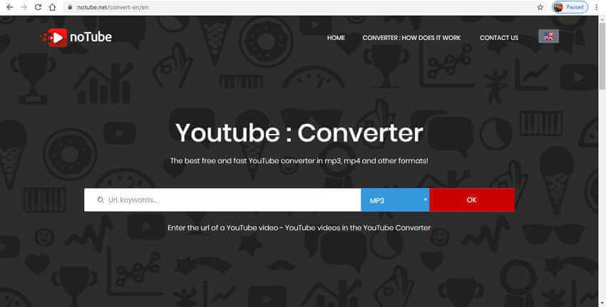 Online Video Clip Converters- noTube