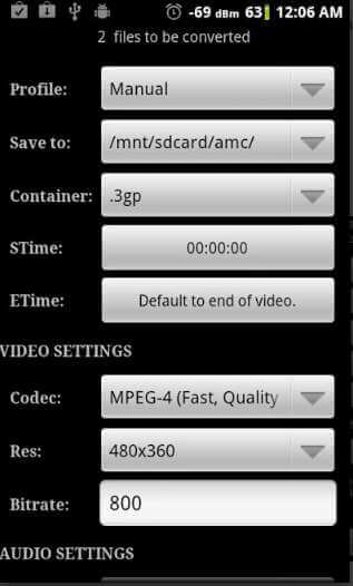 Online Video Clip Converters - Video Converter Android