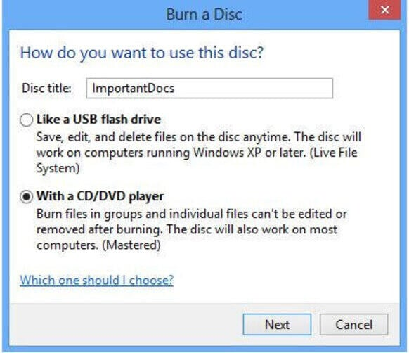How to Burn Photos to DVD on Windows 8 - Start Windows DVD Maker