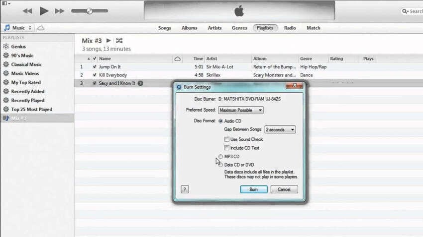 How to Burn Music to CD on Mac Using iTunes - Burn Music in iTunes