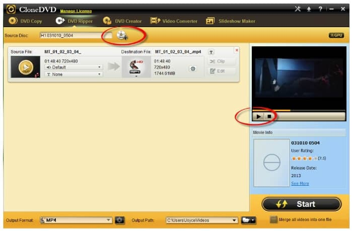 free DVD FLV converters - Clone DVD