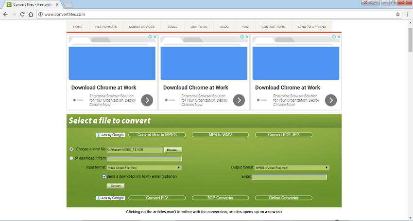 Convert DVD to MP4 Online Free