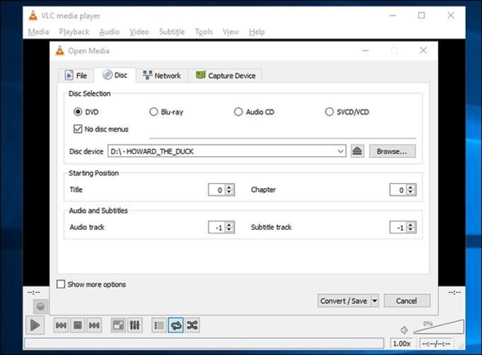 télécharger le DVD sur l'ordinateur Windows 10