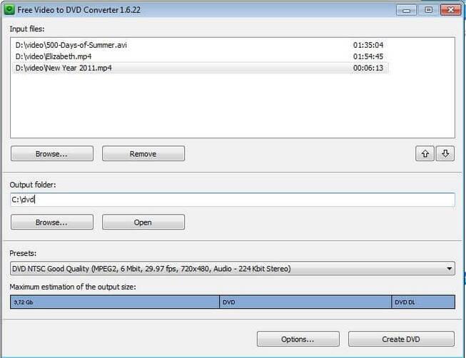 Windows 8 DVD Maker - Free Video to DVD Converter