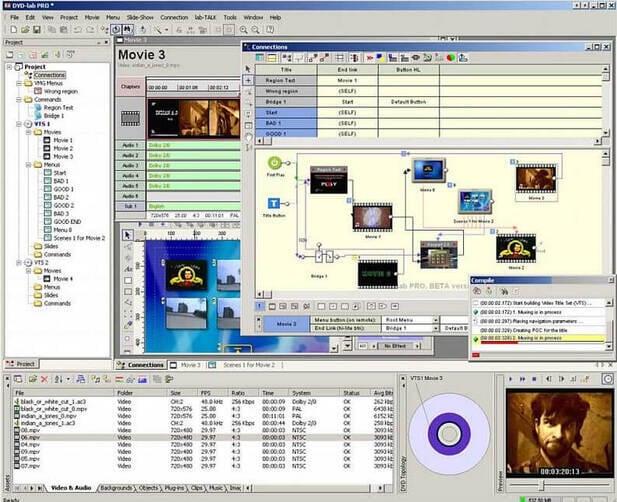 Windows XP DVD Makers - DVD-lab Pro