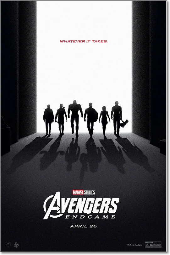 dvd review for Avengers Endgame