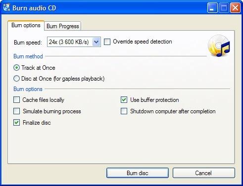 cdburnerxp dvd burner