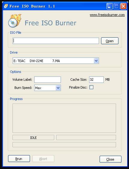 free ISO to DVD burner - Free ISO Burner
