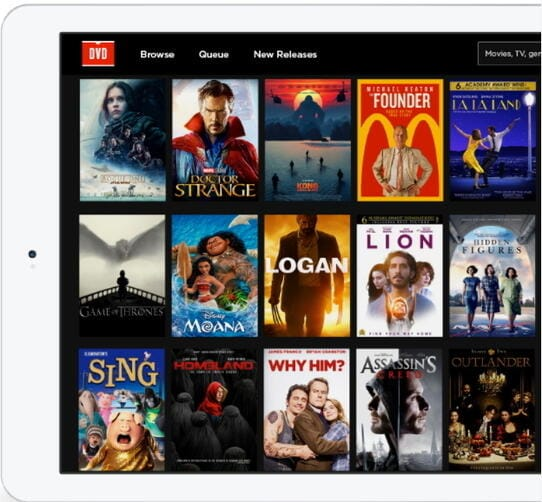 Create Netflix DVD list