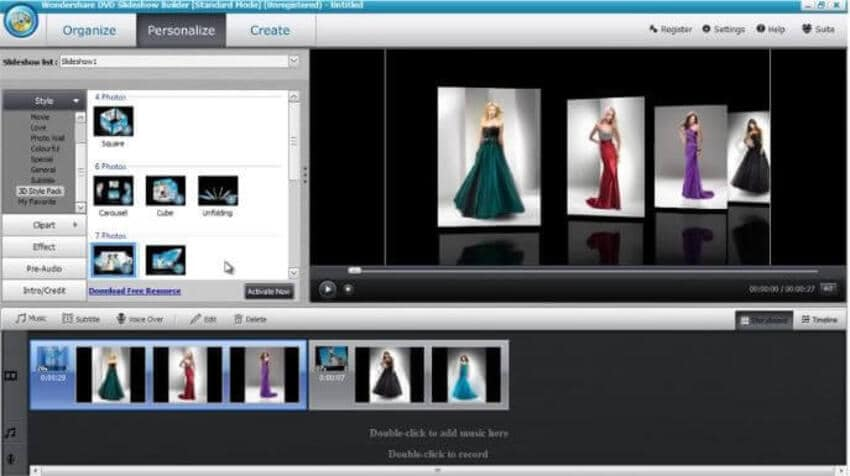 Make a Slideshow with DVD Slideshow Builder Deluxe - Step 4