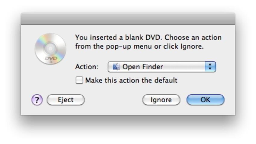 Open Finder