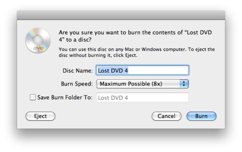 burn movies to DVD free Mac