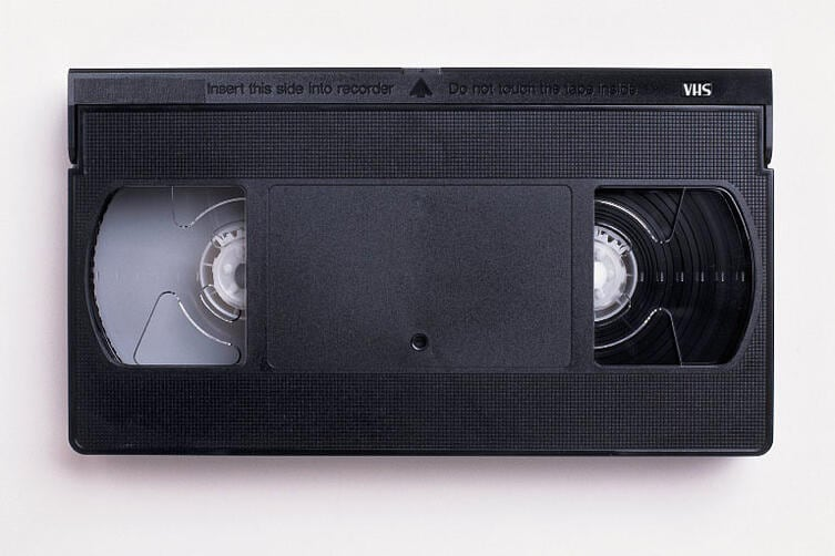 VHS to DVD tape