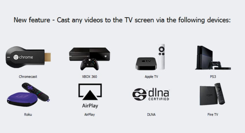 cast video to tv