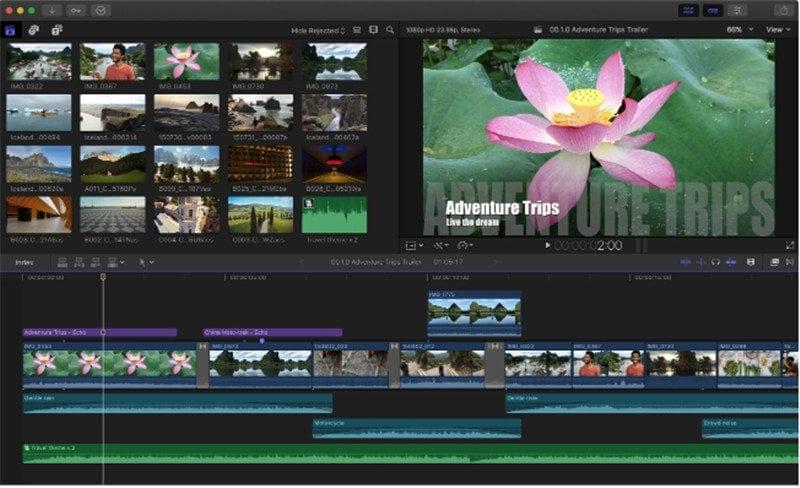 apple video editing