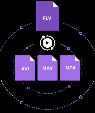 convert FLV to AVI