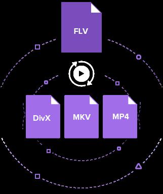 Convert FLV to DivX