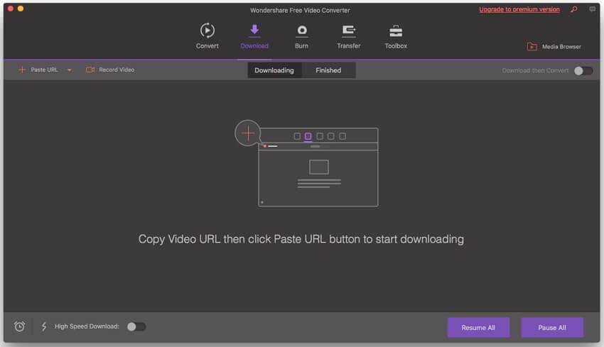 download video Mac