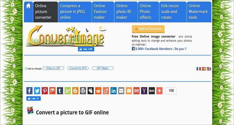 Image to GIF Online Converter-Convert Image