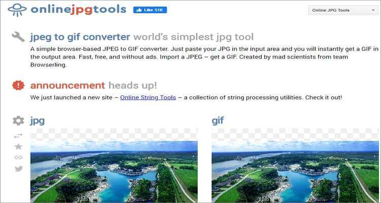 Image to GIF Online Converter-Online JPG Tools