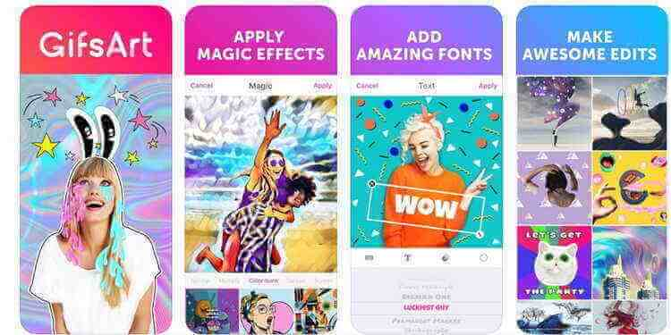 convert JPEG to GIF for Free-PicsArt