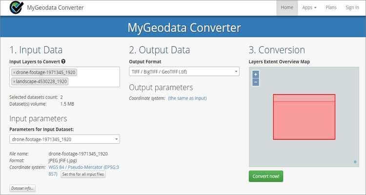 Convert PNG to GIF Online Free -MyGeodata Converter