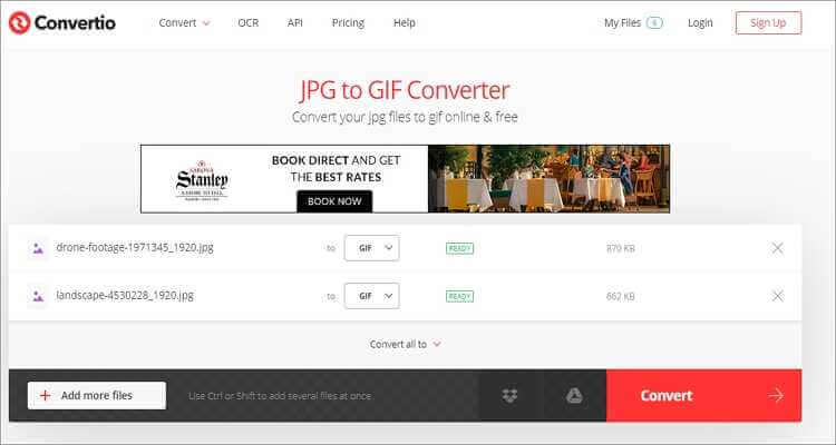 Convert Video to GIF Online Free -Convertio