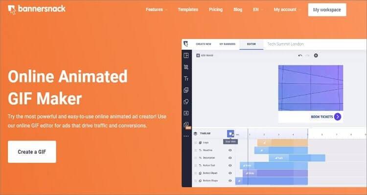 Animated GIF Online Editor-Bannersnack