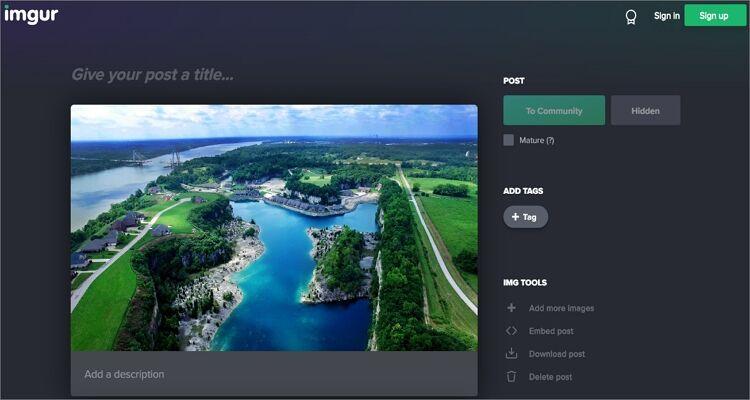 GIF maker online tool-Imgur