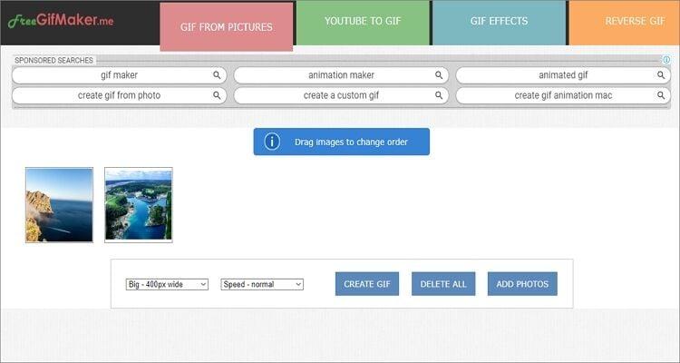 GIF maker online tool-FreeGifMaker