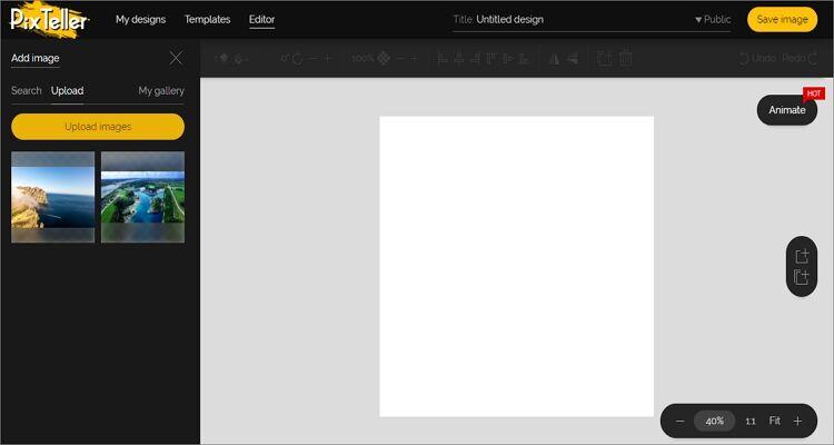 GIF maker online tool-PixTeller