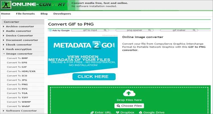Online Image to GIF Converters-Online-Convert