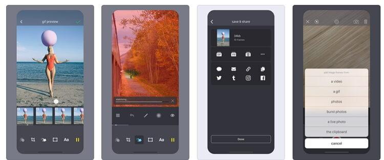 Kostenlose Video zu GIF iPhone Converter - Giffer