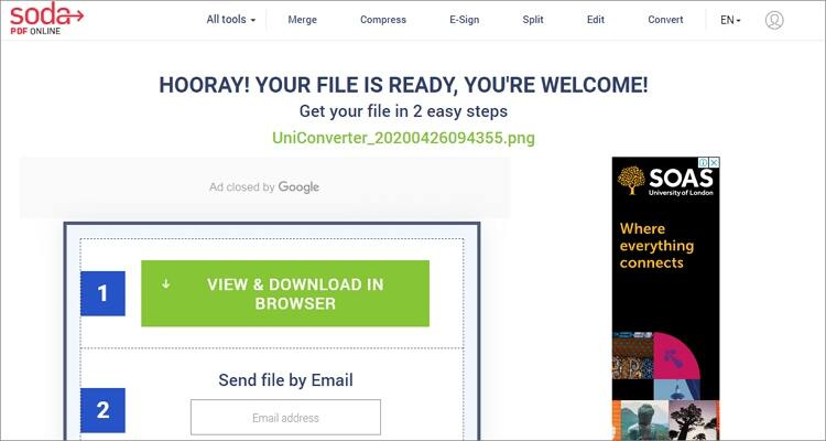 convert GIF to PNG online - Soda PDF Online