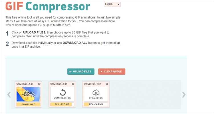 Reduce GIF Size Online Free-GIF Compressor