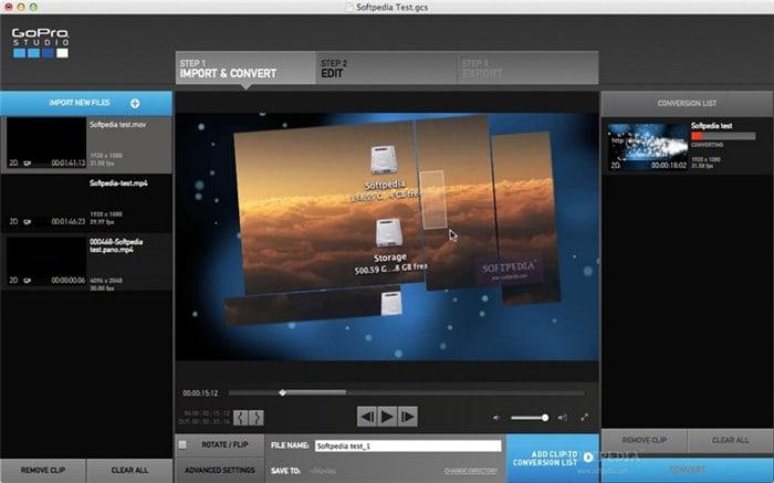 GoPro App für Mac