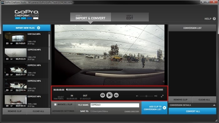 gopro cineform download mac