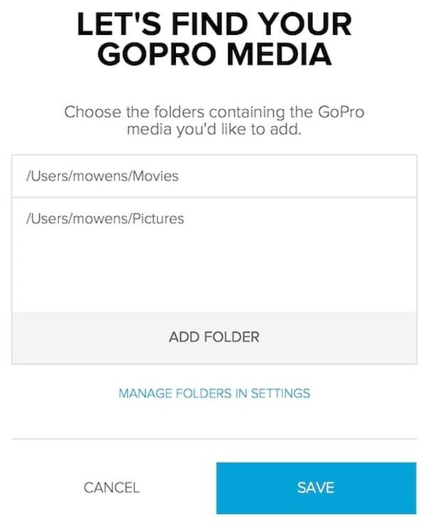 create a media folder