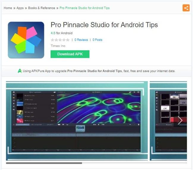 gopro bearbeitungs app für android - pro pinnacle studio