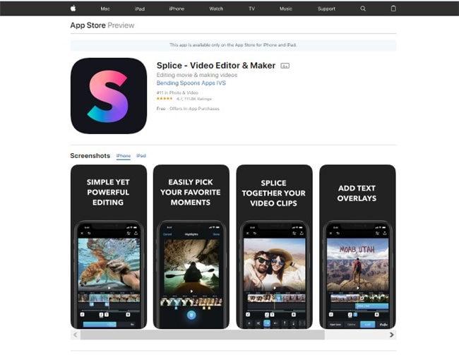 gopro bearbeitungs app für iphone - Splice