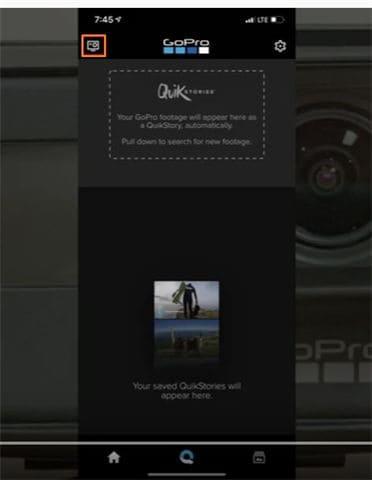 GoPro App starten