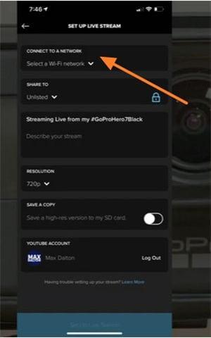 Wie man mit der GoPro auf YouTube live streamt