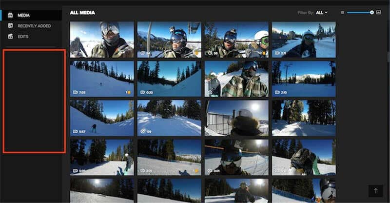 gopro not showing up on mac