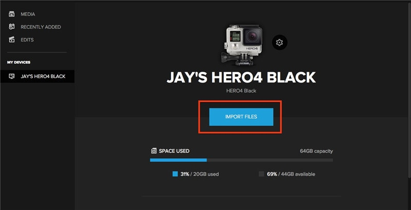 comment faire charger gopro sur mac