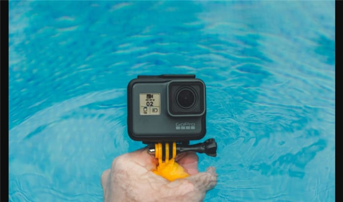 gopro underwater subject distance
