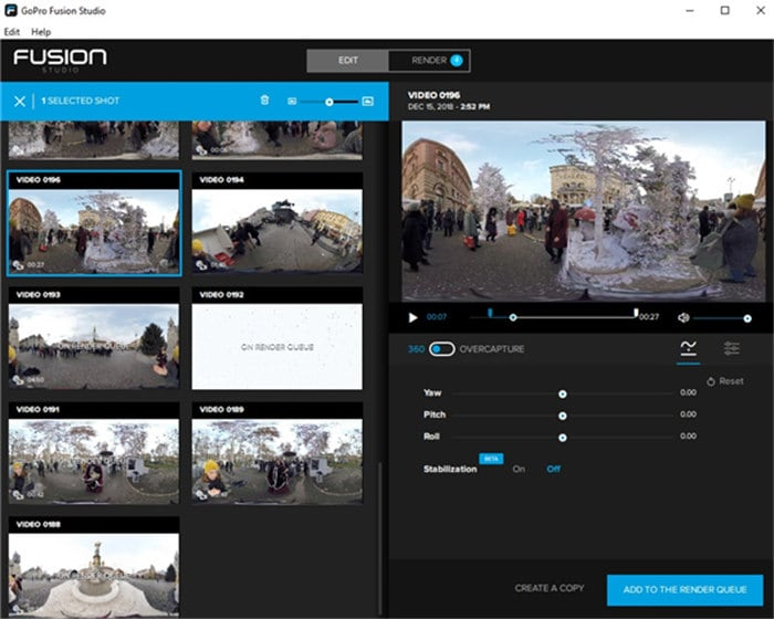 free gopro editing software for mac