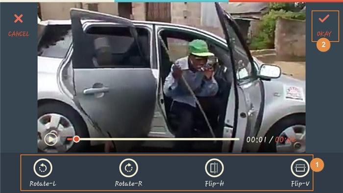 rotate video