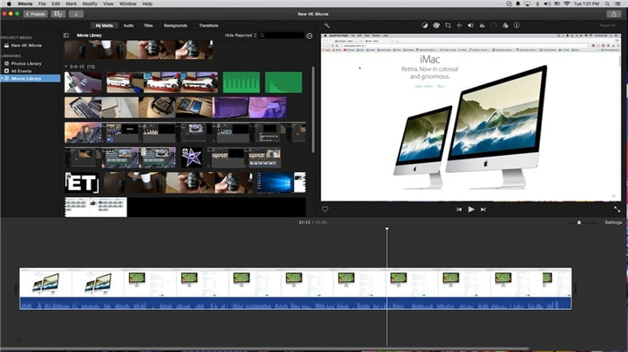 quik video editor with with imovie